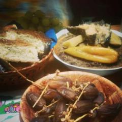 Black Couscous in Jijel