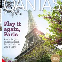 Australian Jazz Musos in Paris (Qantas in-flight magazine)