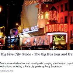 Paris Big Five City Guide